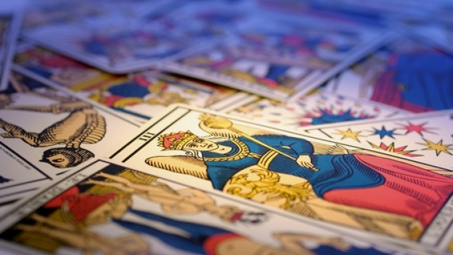 Photo de cartes de tarot